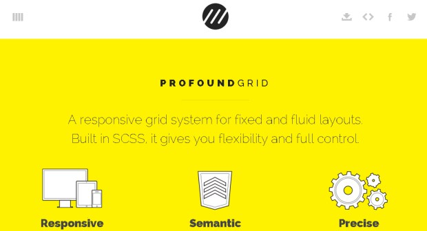 A grid system for web developers.