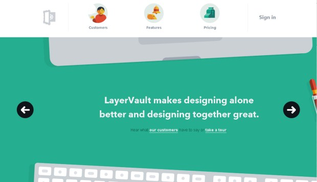 Layer Vault is a design studio focusing on flat designs.