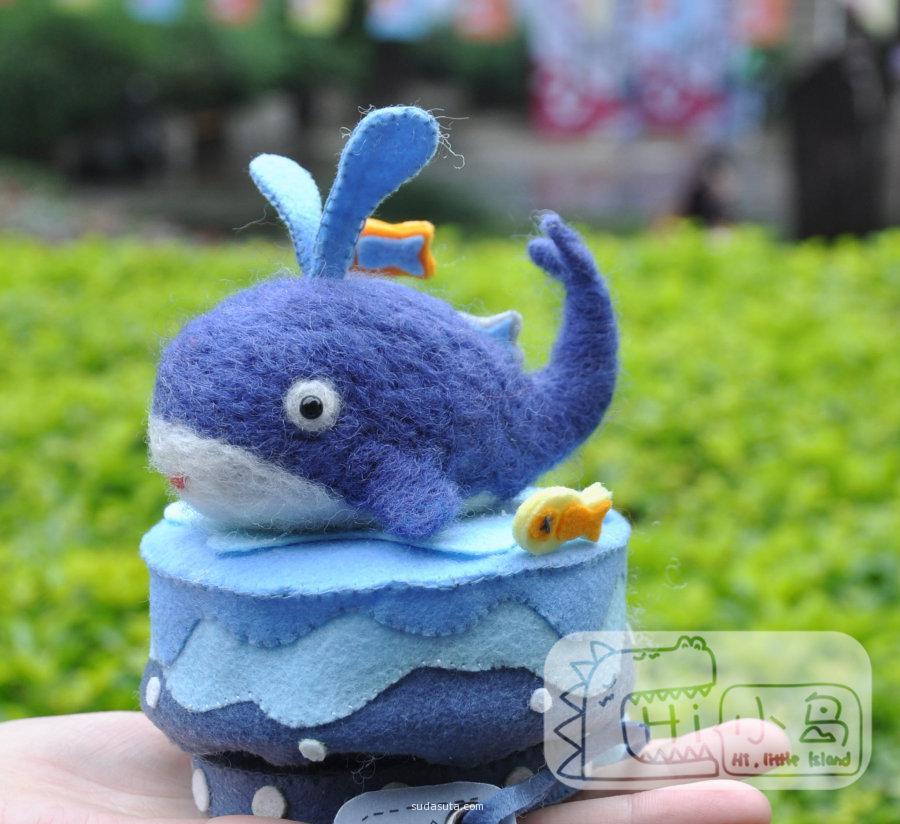 小岛毛毡玩偶品牌设计