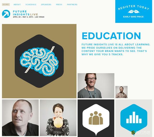 创意移动网站欣赏