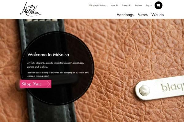 创意网站截图
