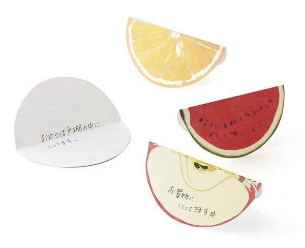 Ko. Machiyama 清新可爱的水果记事本