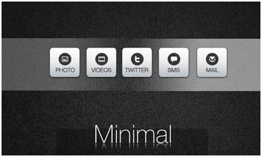 最小Android的图标<br /> http://geordie-boyo.deviantart.com/art/Minimal-Icons-for-Android-204969868