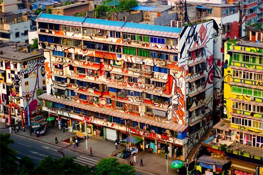 创意城市涂鸦