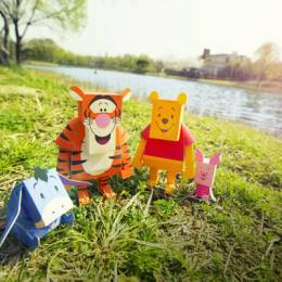 创意纸模玩具欣赏