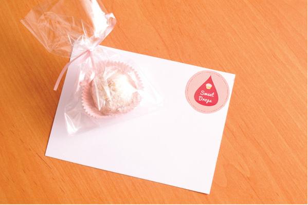 Sweet Drops 可爱的糖果产品设计