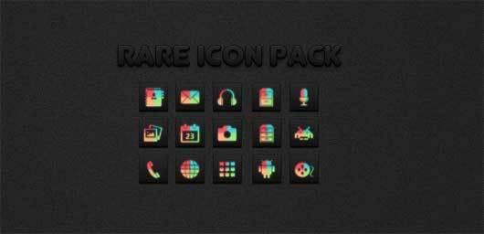 罕见的Android的图标<br /> http://hunterdsg.deviantart.com/art/Rare-icons-for-android-312212889