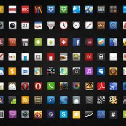 1350 +免费的Android应用程序图标