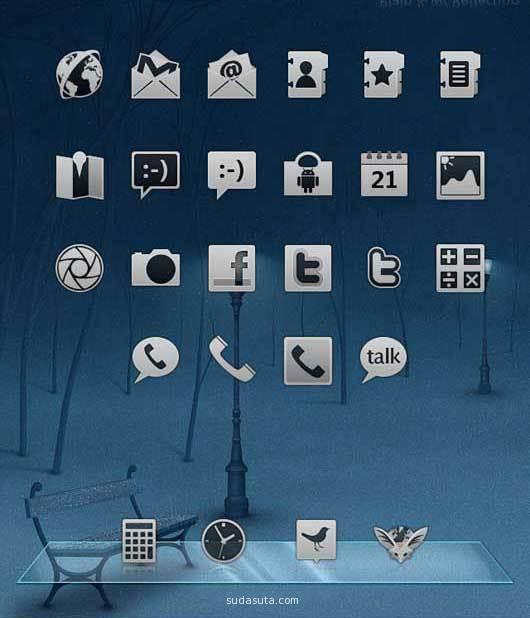 食品法典委员会Android的图标<br /> http://whiterabbit007.deviantart.com/art/Codex-Icons-for-Android-177267166