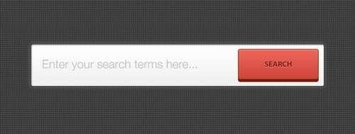 Dark Search Bar