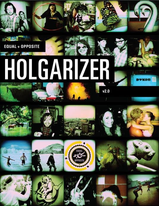 Holgarizer Photoshop Action