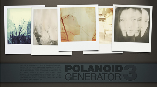 Polaroid Generator 3 Photoshop Action