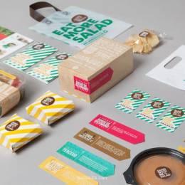 三明治或沙拉 视觉品牌设计