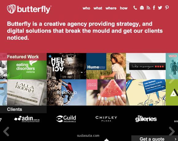 创意网站欣赏