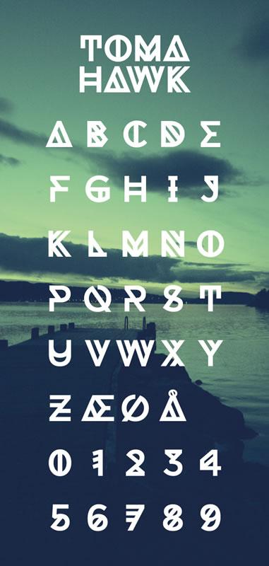 8个免费的新鲜英文字体下载
