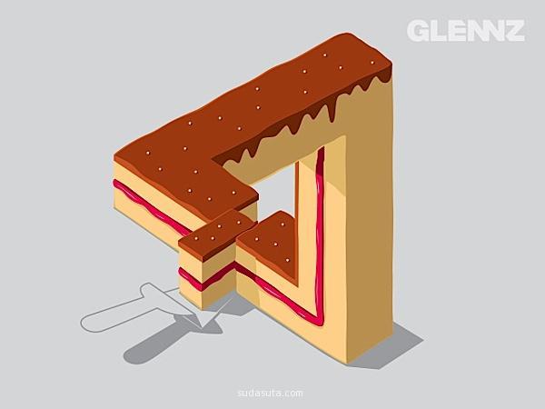Glenn Jones 矢量插画欣赏