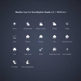 UI设计师蕈 天气通项目界面设计欣赏