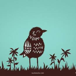 Rural Pearl 鸟类剪纸欣赏