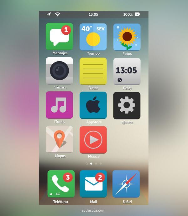 IOS7 精彩设计欣赏