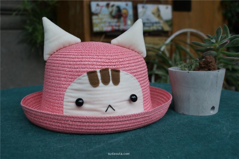 粉色 慵懒喵喵君