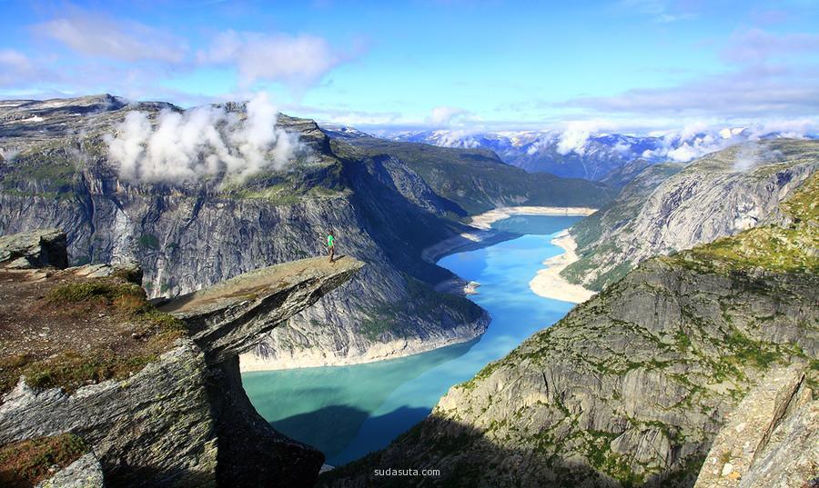 挪威 Trolltunga 恶魔之舌