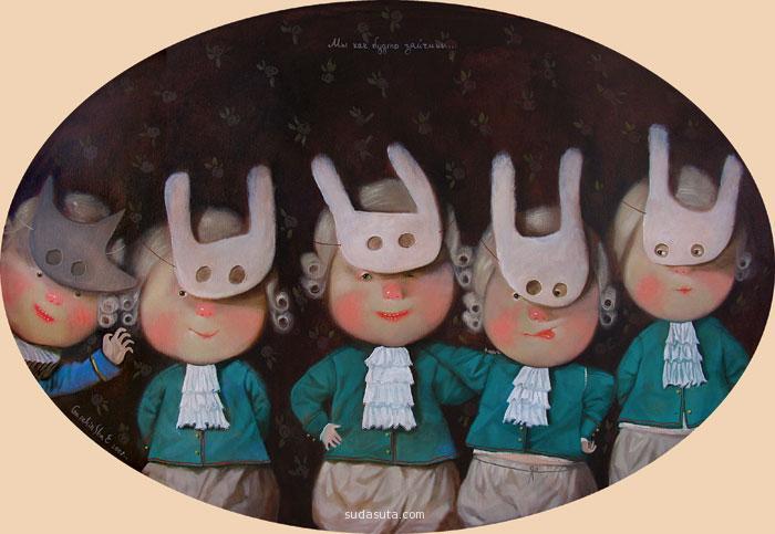 Eugene Gapchinska 儿童插画欣赏