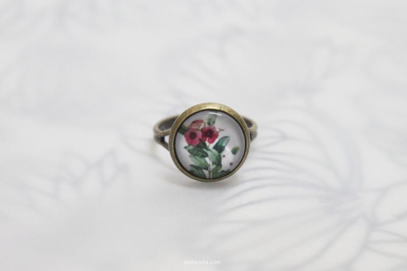 苏茉小记 花语系时光宝石戒指