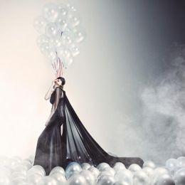 时尚摄影欣赏《Balloons》