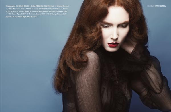时尚杂志Kenton