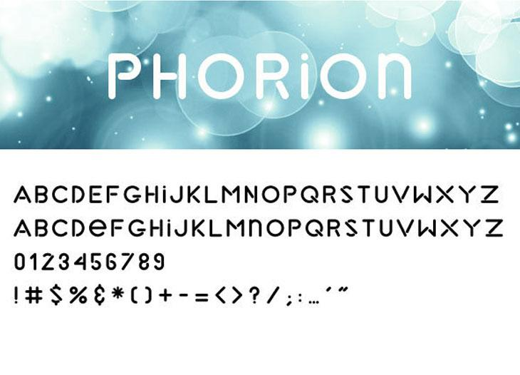 Phorion-Typeface