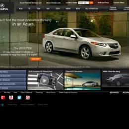 汽车主题创意网站分享