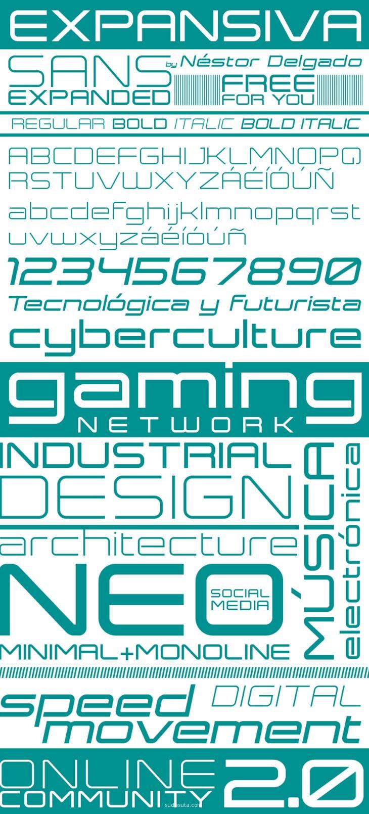 expansiva-font