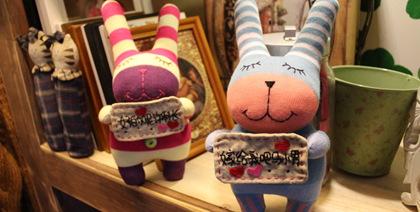 默默工坊/手工袜子娃娃的天堂