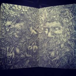 Sam Yong 手绘涂鸦欣赏