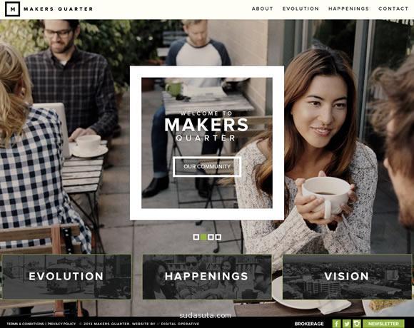 文字在大图上面的创意网站欣赏
