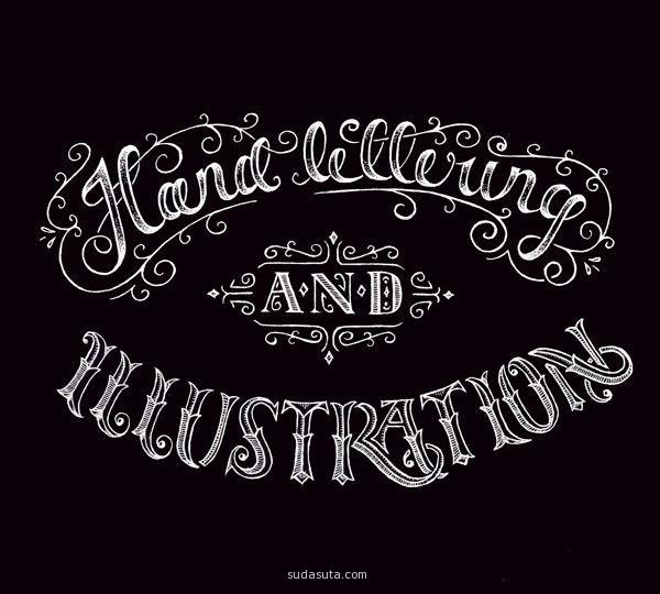 平面字体排版设计欣赏