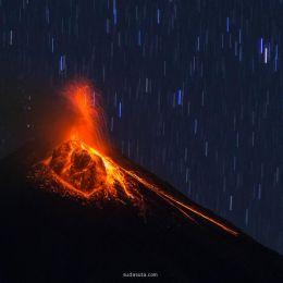 火山熔岩之奇景