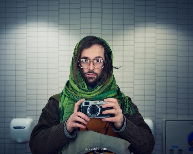 Benoit Paillé 肖像摄影欣赏