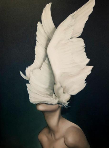 Amy Judd 羽毛与少女