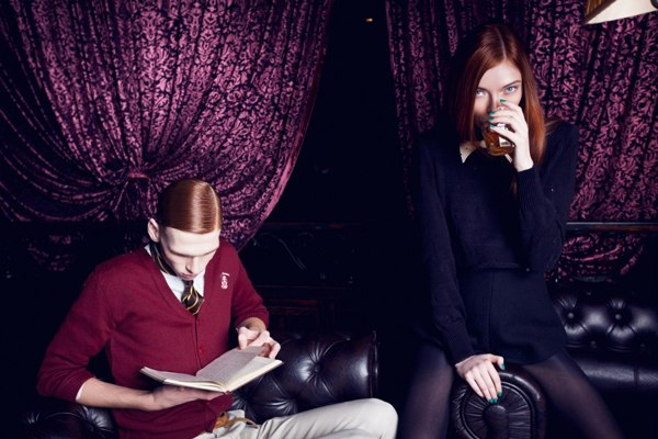 时尚摄影Rogues Vogues