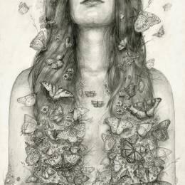 T. Dylan Moore 铅笔画