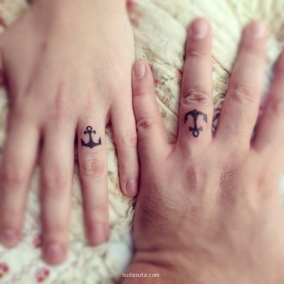 手上的承诺 创意纹身欣赏
