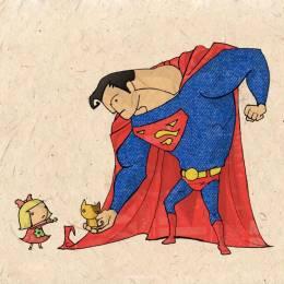 超人 主题插画欣赏