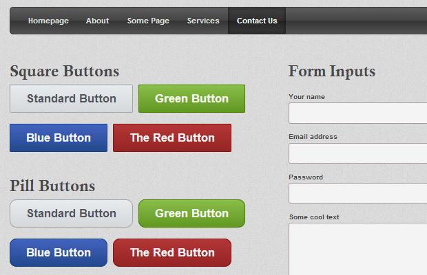 CSS3用户界面工具箱