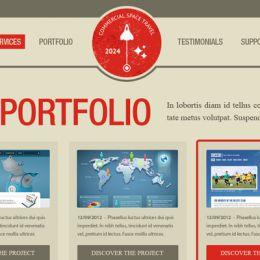 在photoshop如何绘制网页效果图