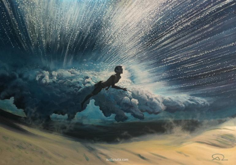 Antoine Renault 手绘海