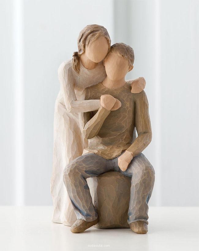 Susan Lordi 手工木头玩偶