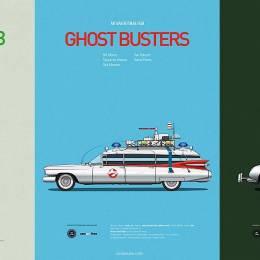 Famous Movies 关于车的平面设计欣赏