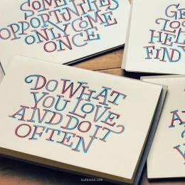 Dave Foster 字体排版设计欣赏