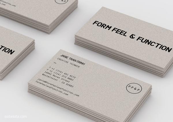 极简主义创意名片设计欣赏